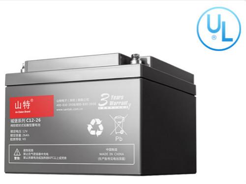 免维护蓄电池C12-26AH