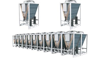 模块化集中式冷凝器
